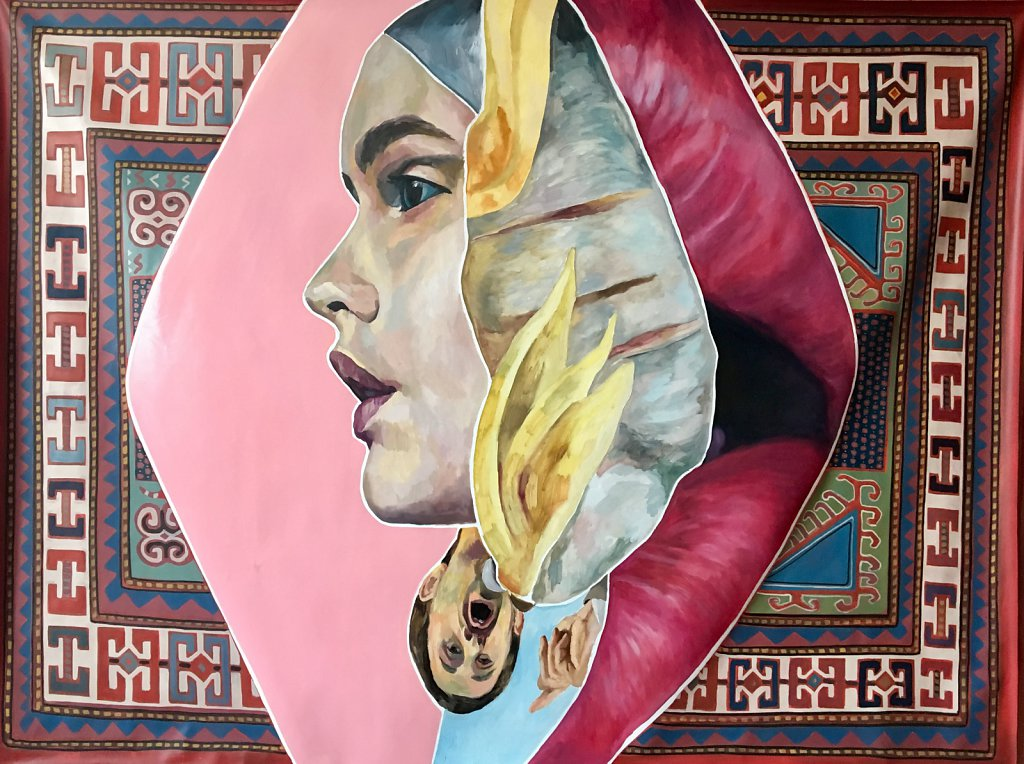 Dorado, oil on linen, 145 x 194 cm, 2016